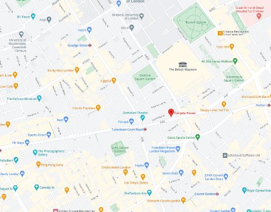 google map just